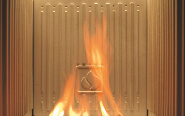 Distinguishing feature #3 of a Piazzetta Fireplace:  Aluker: Better performance and a brighter flame  The fireboxes are lined with Aluker® panels, the exclusive refractory ceramic material patented by Piazzetta, which improves combustion and heat dispersal. Aluker® offers extraordinary energy storage and outstanding resistance to high temperatures, plus safe use, simple maintenance and long-lasting reliability. What's more, its light colour enhances the brightness of the fire.