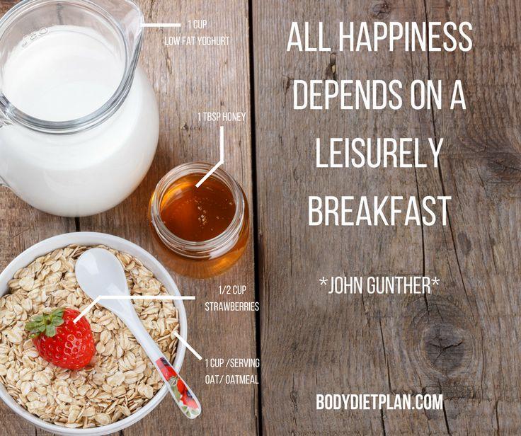 Kickstart your day in a healthy way!  bodydietplan.com