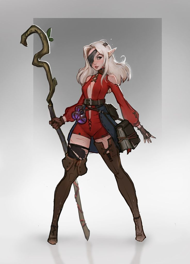 character sketch, Daria Leonova on ArtStation at https://www.artstation.com/artwork/o1ozm