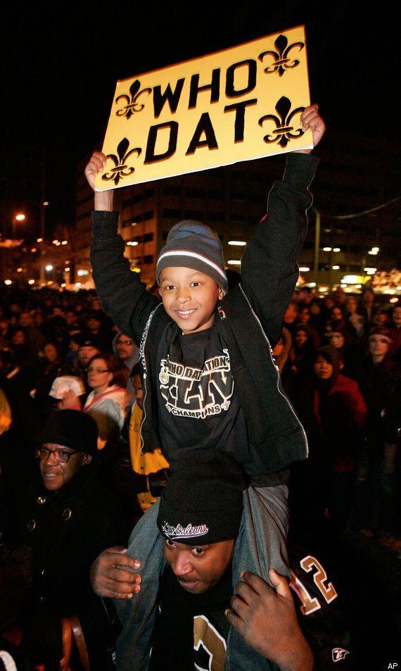 saints super bowl pictures | Saints Super Bowl Parade PICTURES: Photos From New Orleans