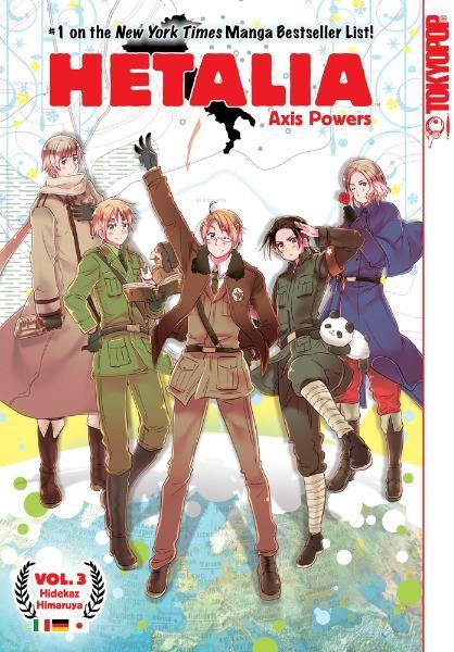 Hetalia Axis Powers Manga 03