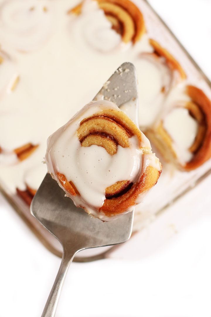These easy vegan cinnamon rolls are sweet, tender, and filled with cinnamon flavor for a plant-based spin on a classic favorite.