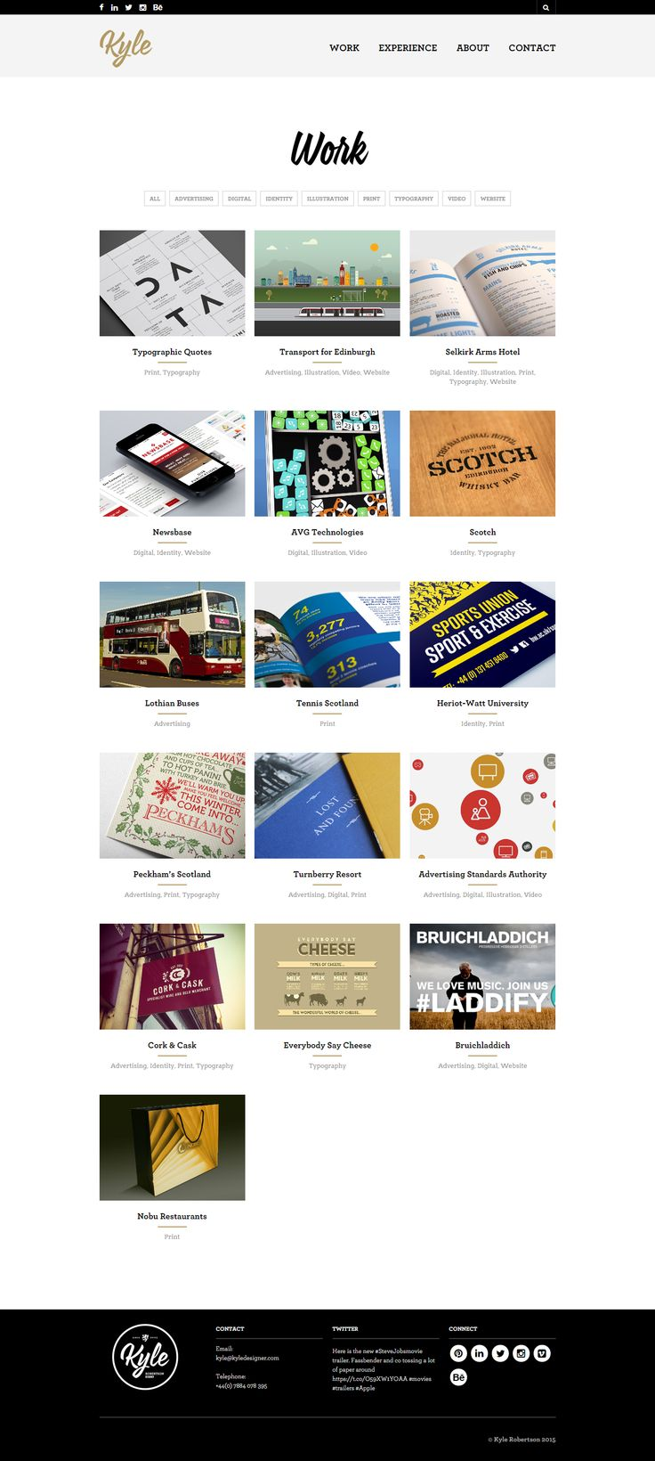 Kyle Robertson is a talented Senior Designer who uses The Retailer WP theme to build beautiful sites with ease. http://www.getbowtied.com/the-retailer-customer-stories-meet-kyle-of-kyledesigner-com/?utm_source=pinterest.com&utm_medium=social&utm_content=kyle-designer&utm_campaign=customer-stories #customerstories #wordpress #wordpressthemes #customerspotlight #designers #retailer