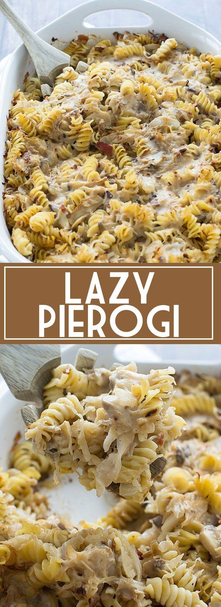 Mom's Lazy Pierogi