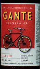 Gante Pale Ale Pale Ale5      Gante Brewing Co.  Descripción Comercial:  Gante Pale Ale