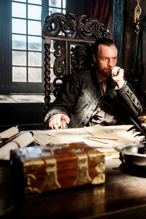 Captain Flint in Black Sails