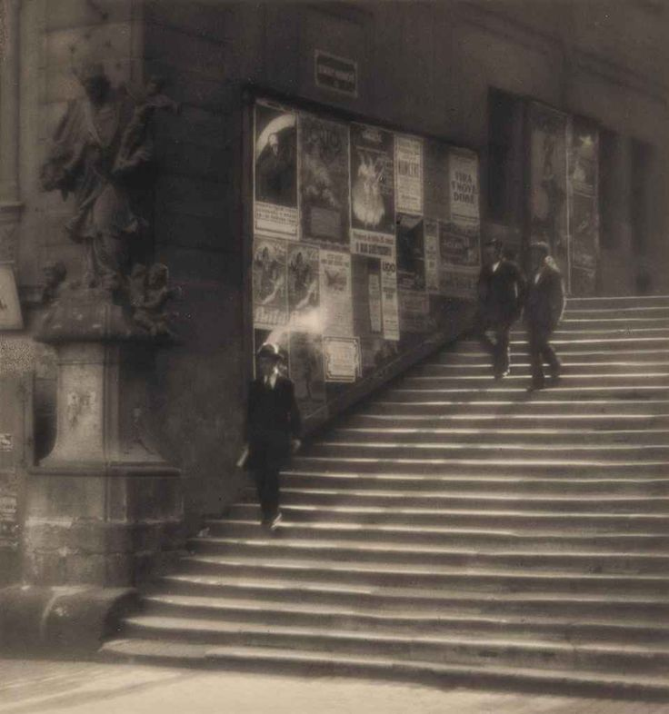 Staircase of Old Prague, 1924, Jaromír Funke. Czech photographer (1896 - 1945)