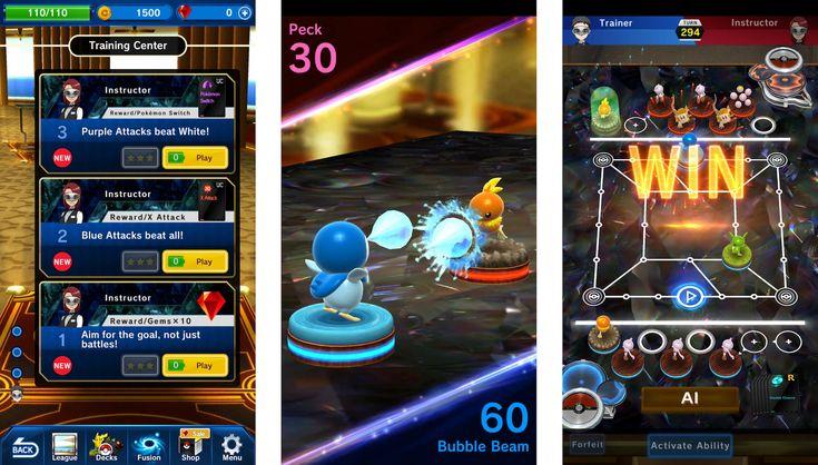 Pokémon DuelはiOSとAndroidで動く無料の戦略バトルゲーム