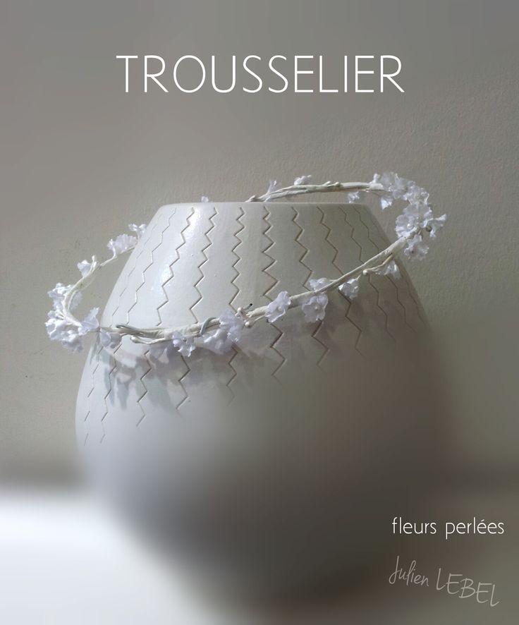 couronne de fleurs artificielles trousselier www.trousselier.com