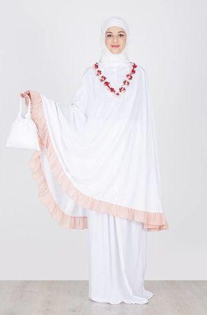 Tatuis  Adair Tasanee Peach  IDR 294.300  Jual Baju dan Busana Muslim Modern | Hijabenka