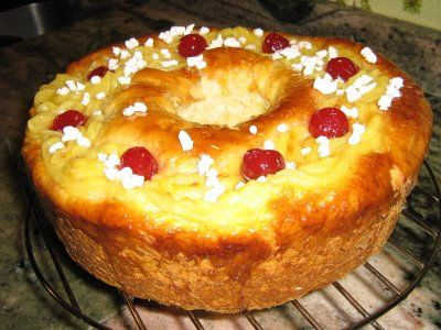 Receta sencilla: Rosca de Pascua / Reyes