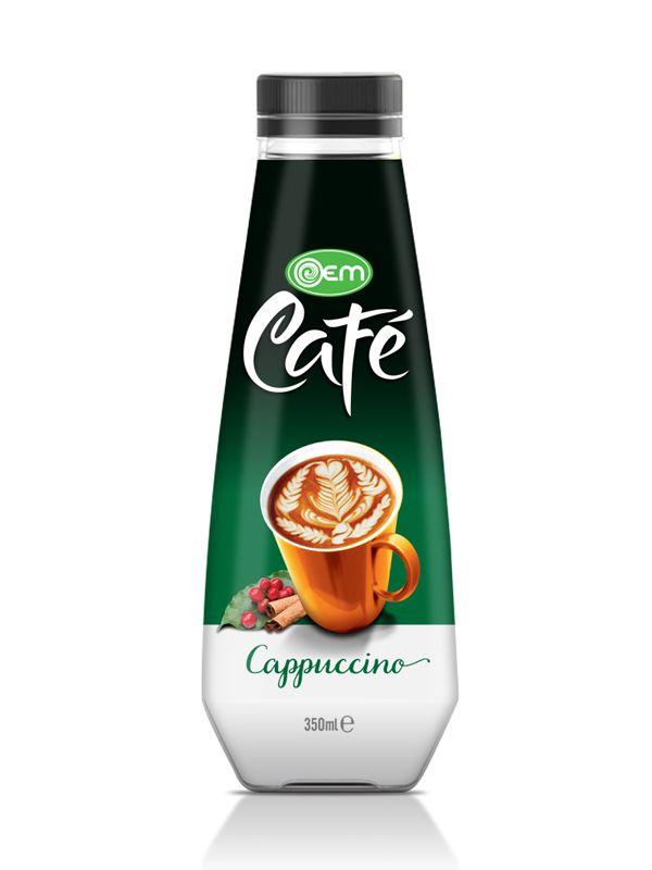 350ml OEM Pet bottle Cappuccino Coffee