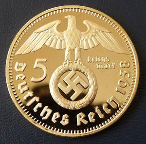Nazi gold coin