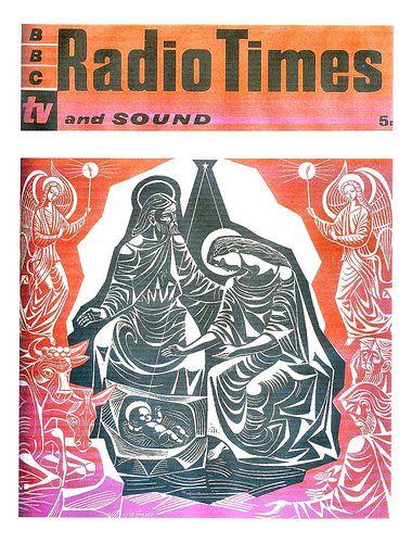 Radio Times Cover 1960 Eric Fraser