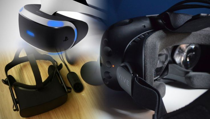 VR battle royale: PS VR vs. HTC Vive vs. Oculus Rift Ive spent quite a bit of the last few months with headsets strapped to my face. Whether that has enriched my life significantly or left it in shambles I cannot say but I will mentionthat the games are at least starting to get reallyfun and the video contentis only getting better.  ThePlayStation VR launched today and with that there are about three great options for consumers to embrace high-quality VR butfirst offshould you even buy one…