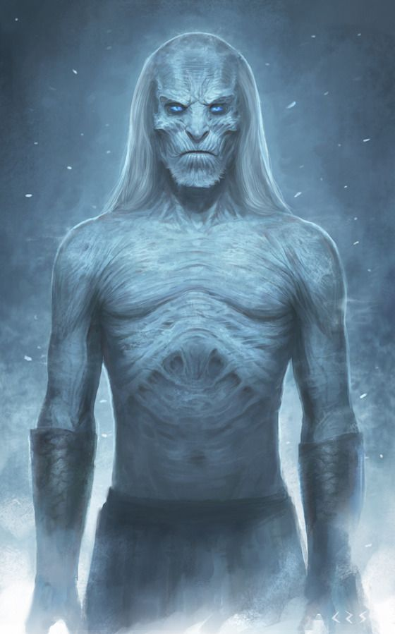 White Walker by Ziyu Chen #gameofthrones Game of Thrones Merchandise, Collectibles & Clothing: http://storetvshows.com/product-category/game-of-thrones/