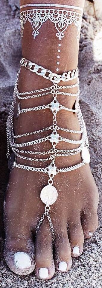 Anklet bohemian style