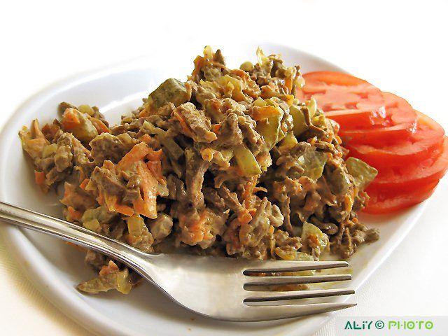 Кулинарная книга Алии: 258. Печеночный салат