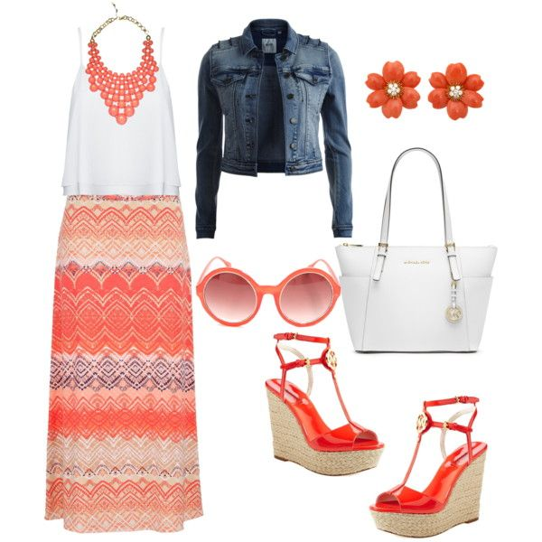 A fashion look from March 2015 featuring Alice + Olivia tops, Object Collectors Item jackets and MICHAEL Michael Kors sandals. Browse and shop related looks.
