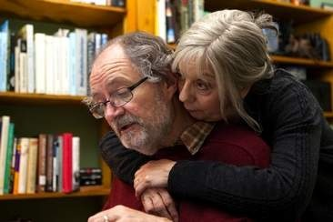 The kind of couple many aspire to become. // Jim Broadbent and Ruth Sheen in Another Year, directed by Mike Leigh