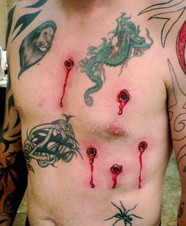 Hyper-Realistic Tattoos You Won't Believe. Ouch! These hyper-realistic #tattoos will shock you - look #9 is just plain crazy!