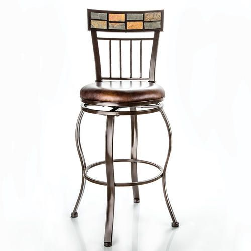 Designer S Image Grayson 30 Quot Swiveling Metal Stool At