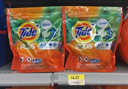 New $3.00 Coupon! Tide Pods, as Low as $1.17 at Walmart!