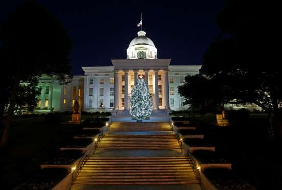 ALABAMA Alabama became the first U.S. state to declare Christmas a legal holiday in 1836.