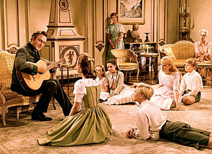 The Sound of Music (1965) Captain sings Edelweiss. Aww