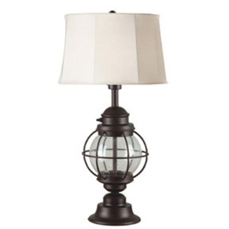 Nautical Outdoor Table Lamp bronze