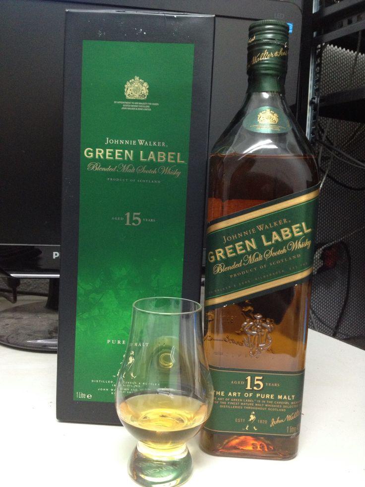 Johnnie Walker Green Label 15YO Blended Malt Scotch Whisky October 2013