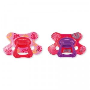 The Orthodontic Pacifier-Stage 3 prepares a toddler to be weaned from pacifier use.