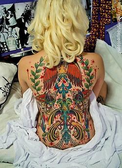 Inked DollsColors People, Ink Girls, Ink Dolls, Back Piece, Ink Baby, Baby Ink, Koi Tatoo, Tattoo Girls, Tattoosbodi Munipul