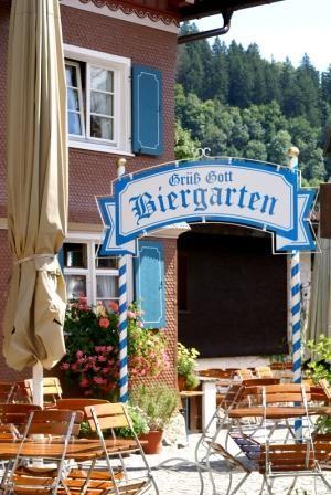 Biergarten Beer Garden. http://www.oktoberfesthaus.com