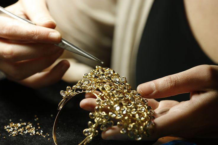 Guerlain X Gripoix   Work in progress ... #gripoix #guerlain #collaboration #jewelry #handmade #artisans #parfum