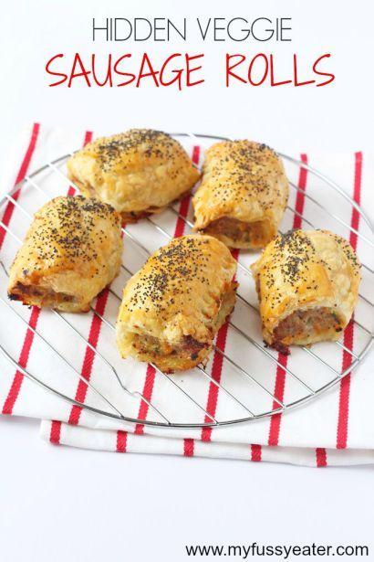 Hidden Veggie Sausage Rolls - My Fussy Eater