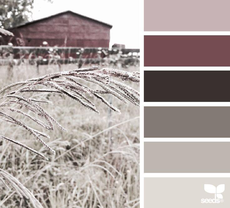 ༺༺♥Elles♥Heart♥Loves♥༺༺༺ ............♥Color Charts♥............ #Color #Chart #ColorChart #Inspiration #Design #Moodboard #Paint #Palette #Decorate #Art #Renovate ~ ♥Design Seeds Rural Tones