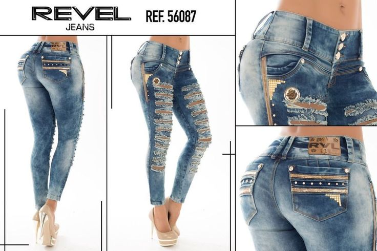 colombian jeans REVEL , pantalon levanta cola,butt lift  jeans ,jeans colombiano   Clothing, Shoes & Accessories, Women's Clothing, Jeans   eBay!