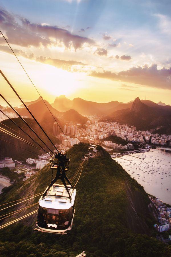 Rio de Janeiro Sunset, Brazil