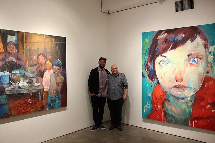 Andrew Hem and Jonathan LeVine
