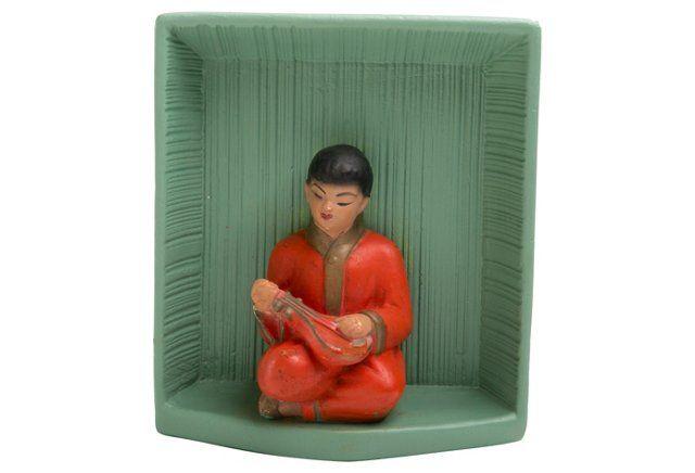 Ceramic Asian Figure