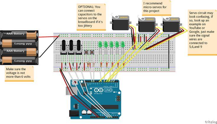 Simple Programmable Robotic Arm