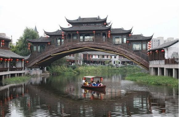 Song Dynasty Town, a beautiful place; Song Dynasty Town, a song culture places; Song Dynasty Town, a show of song of eternal love. Beautiful scenery, a window of a door, one showed Chinese Ancient Song Dynasty style.