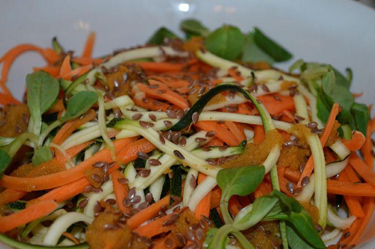 Spaghetti de legume Raw Vegan