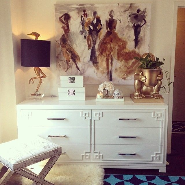 jyqin s space shows how glam a white   gold color palette can be  Features127 best Modern Glam Decor images on Pinterest   Home  Living room  . Glam Bedroom On A Budget. Home Design Ideas