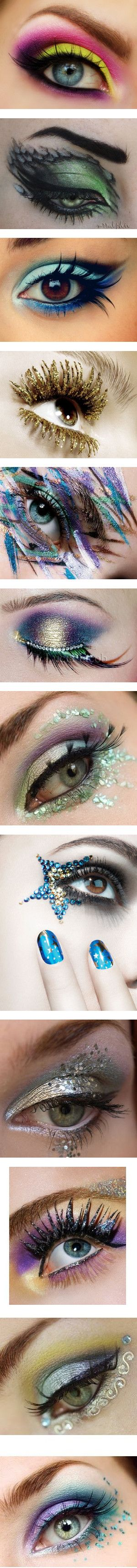 Capitol Make-up by shanayaswonderland on Polyvore featuring beauty products, makeup, eye makeup, eyeshadow, eyes, beauty, pictures, backgrounds, people and maquillaje
