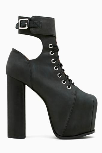 Hewson Platform Boot by #JeffreyCampbell