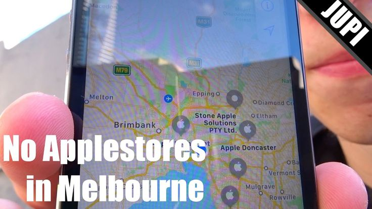 No Apple Stores in Melbourne