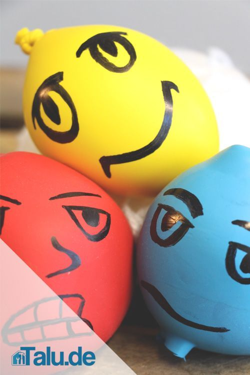 Sie müssen dringend etwas Stress abbauen - an Wutbällen können Sie sich auslassen. Unsere Anleitung zeigt, wie Sie einen Knetball selber machen.