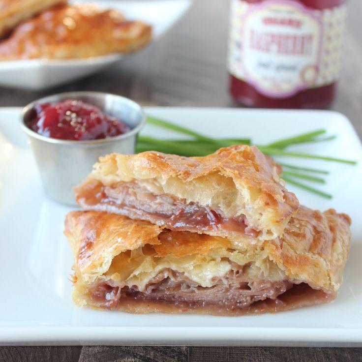 Baked Puff Pastry Monte Cristo Sandwich Recipe